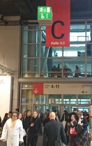 »Umschlagplatz der Ideen« (Frankfurter Buchmesse, 2015)