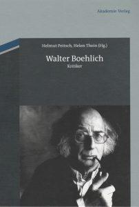 Walter Boehlich - Kritiker