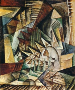 Max Weber: Rush Hour (1915)