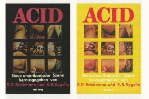 Cover der Anthologie Acid