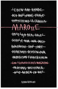 Benno Käsmayr: Marotte (Maro Verlag, 2016)
