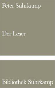 Peter Suhrkamp - Der Leser (Suhrkamp Verlag, 1960)