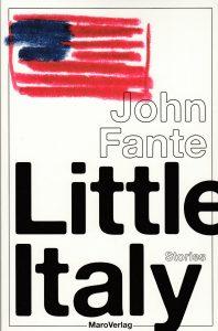 John Fante: Little Italy (MaroVerlag, 2016)
