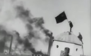 Szene aus Dziga Vertovs Donbass-Sinfonie (1930)