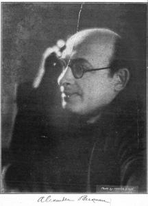 Alexander Berkman 1920 (Foto: Marcia Stein)
