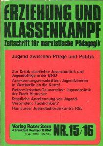 Erziehung und Klassenkampf (Verlag Roter Stern, 1974)