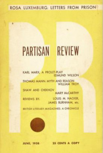 Partisan Review - Juni 1938