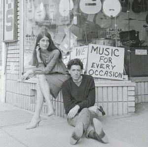 Mimi Baez und Richard Fariña