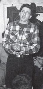 Richard Fariña als Student