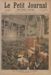 Auguste Vaillant wirft eine Bombe in die französische Nationalversammlung (9. Dezember 1893)