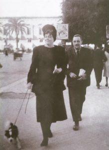 Licy und Giuseppe Tomasi di Lampedusa in Palermo in den 1930er Jahren