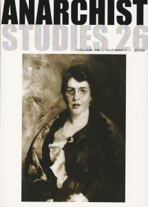 Emma Goldman: Porträt von Robert Henri (Anarchist Studies 2018)