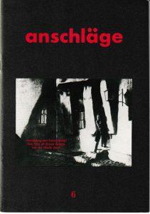 anschläge Nr. 6 (1983)