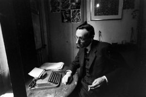 Burroughs and the Typewriter