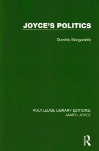Dominic Manganiello: Joyce's Politics