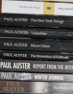 Paul Auster - Bücher als Faber-Ausgaben