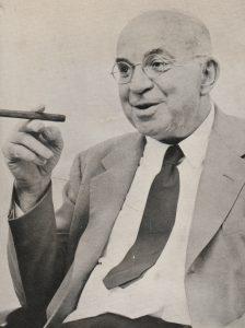 John Dos Passos in den 1960er Jahren (Foto: George Cserna)