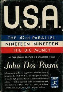 John Dos Passos: Erstausgabe von U.S.A. (Modern Library