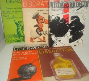 Cover der Zeitschrift Liberation aus den 1960er Jahren