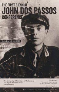 Plakat zur John Dos Passos Conference 2014