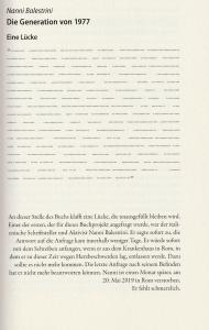 Nanni Balestrini: »Die Generation von 1977« (Unrast-Verlag, 2020)